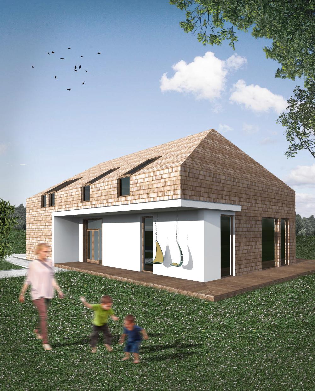 dom, portfolio, lubelski naturalny dom, projektowanie domów jednorodzinnych, lublin