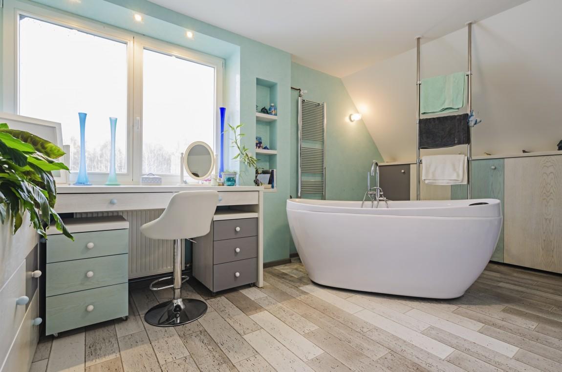 toaletka, salon kąpielowy, portfolio, łazienka, projektowanie wnętrz
