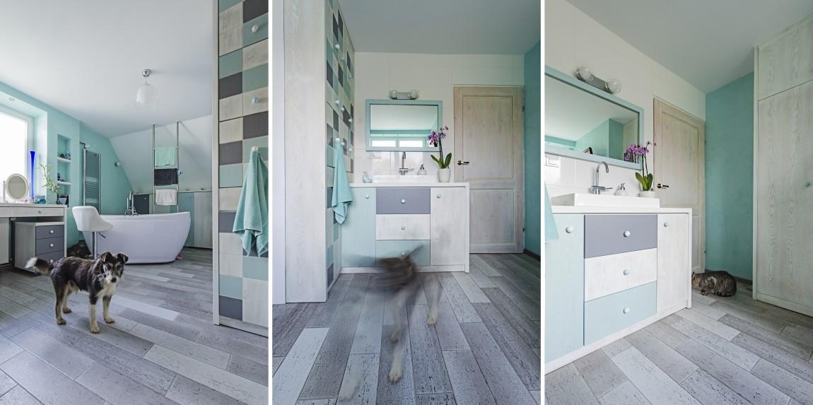 rustykalny, salon kąpielowy, portfolio, łazienka, projektowanie wnętrz