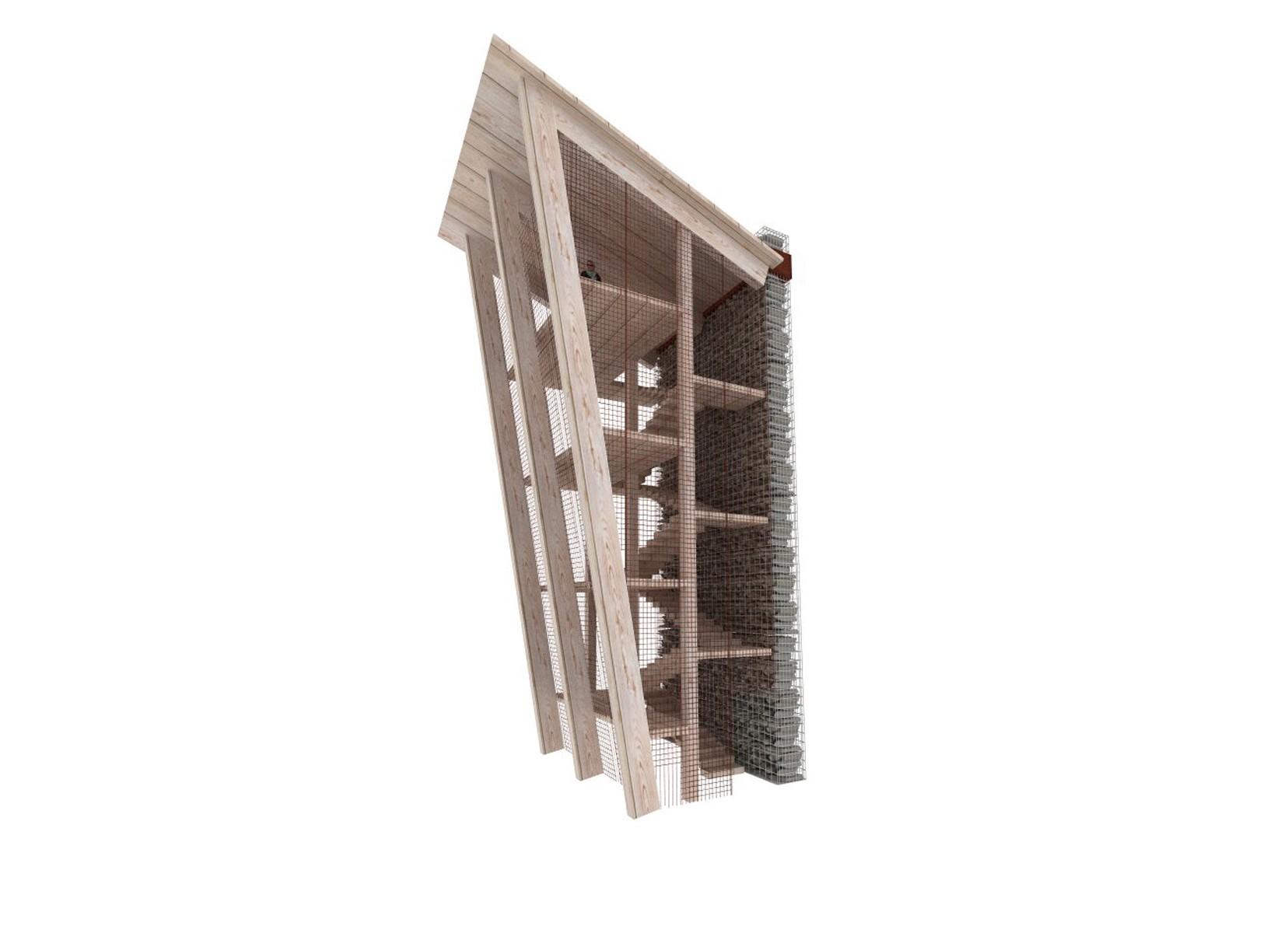 portfolio, szlak jana III sobieskiego, jIIIs, mała architektura, spiczyn, wieża widokowa