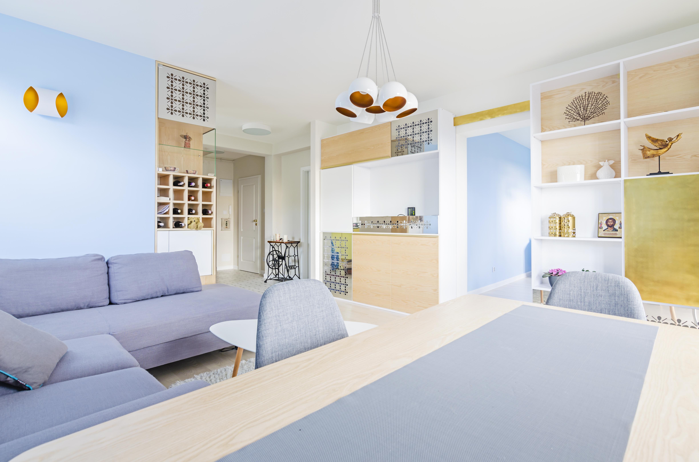 złoto i srebro, portfolio, laurowa, mieszkanie, projektowanie wnętrz, łazienka
