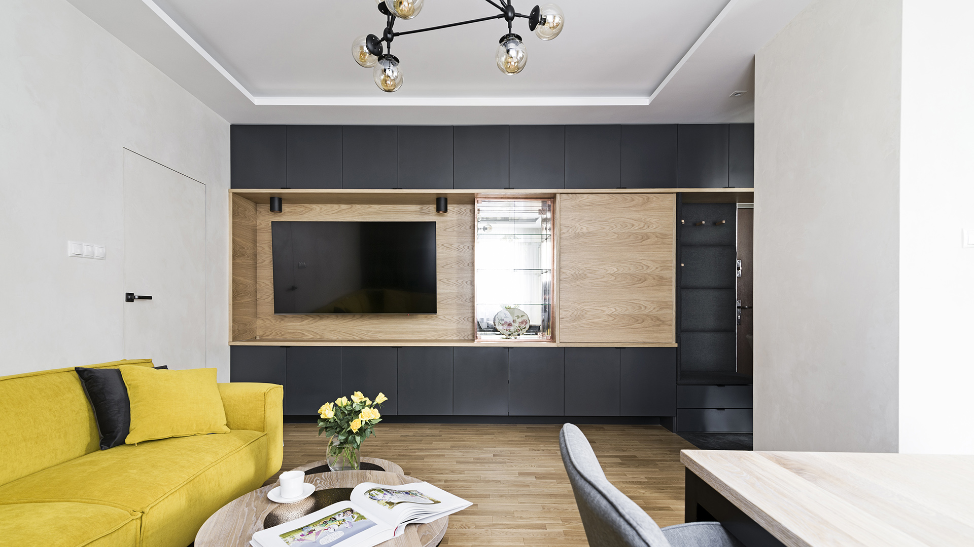 wnętrza, mma, portfolio, ogrodowa, mieszkanie, projektowanie wnętrz, lublin